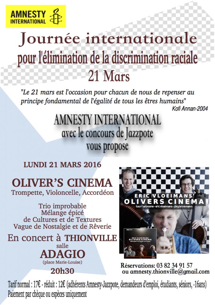 flyer Oliver's cinema