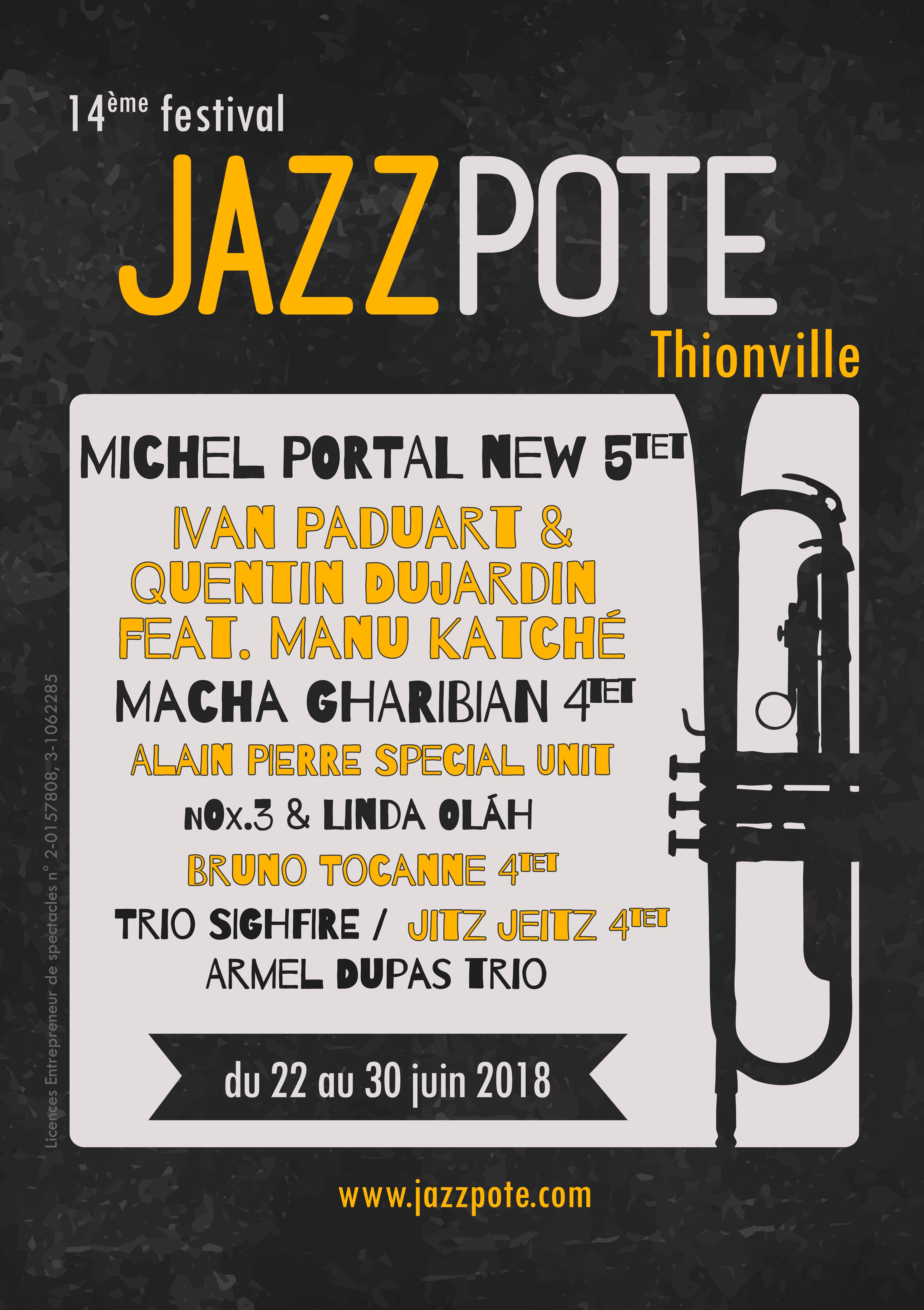 Programme Jazzpote 2018